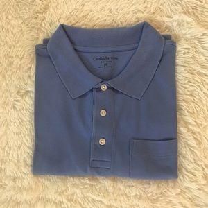 Croft & Barrow Men's Blue Polo Size Medium